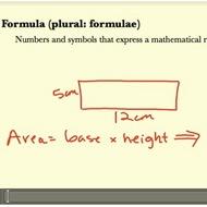Geometric Formulae