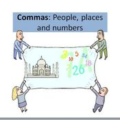 Commas with Numbers, People, and Places