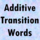 Additive Transition Words