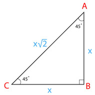9-4 Special Right Triangles 45-45-90 (due Tuesday 1/27)