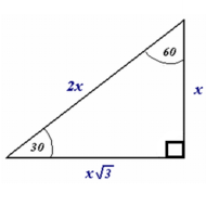 9-5 Special Right Triangles 30-60-90 (due Wednesday 1/28)