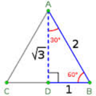 9-5 30-60-90 Special Right Triangles