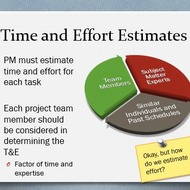 Time and Effort Estimates