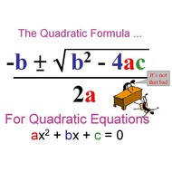 Lesson 4-7 The Quadratic Formula Complex Solutions