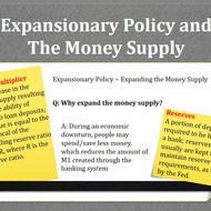 Expansionary/Contractionary Policy and the Multiplier Effect