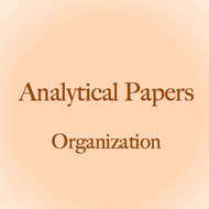 Analytical Paper: Organization