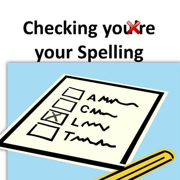Editing Techniques: Checking your Spelling
