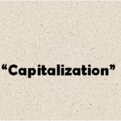 Capitalization in Quotations