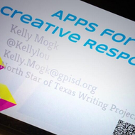 Apps for Creative Response