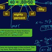 Writing and Solving Percent Equations