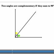 Complementary Angles