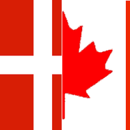 History of Canadian and Danish National Flags