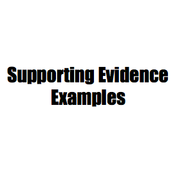 Supporting Details: Examples