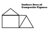 Surface Area of Composite Figures