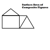 Surface Area of Composite Figures Tutorials, Quizzes, and