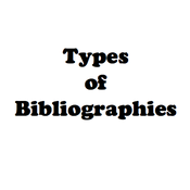 Types of Bibliographies