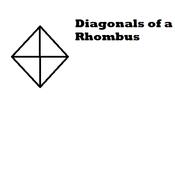 Diagonals of a Rhombus