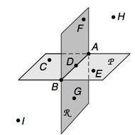Pre-Algebra Lesson 9-1: Points, Lines, Planes