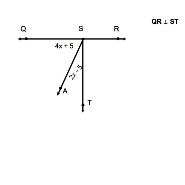 Finding Unknown Angles from Complementary Angles