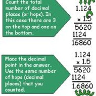 Multiply by Decimals