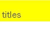 Title Format