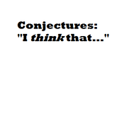 Conjectures