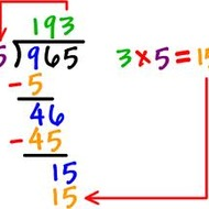 Divide Decimal Numbers by One Digit