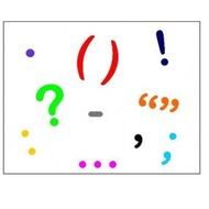 #1 - A bunch of punctuation marks:  Semicolons vs. Colons