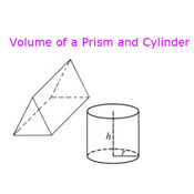 Volume of a Prism and Cylinder
