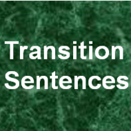 Transition Sentences