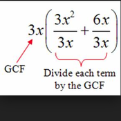 Factoring by GCF