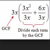 Factoring by GCF