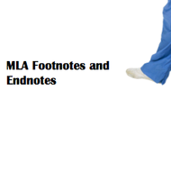MLA format: Footnotes and Endnotes