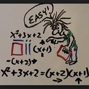 Factoring a^2+bx+c when a=1