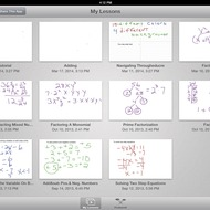 Navigating through Educreations