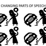 Changing Parts of Speech
