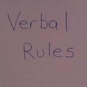 Writing Verbal Rules