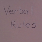 Writing Verbal Rules
