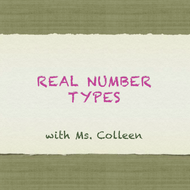 Real Number Types