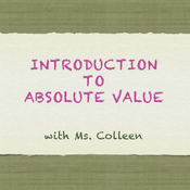 Introduction to Absolute Value