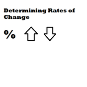 Determining Rate of Change
