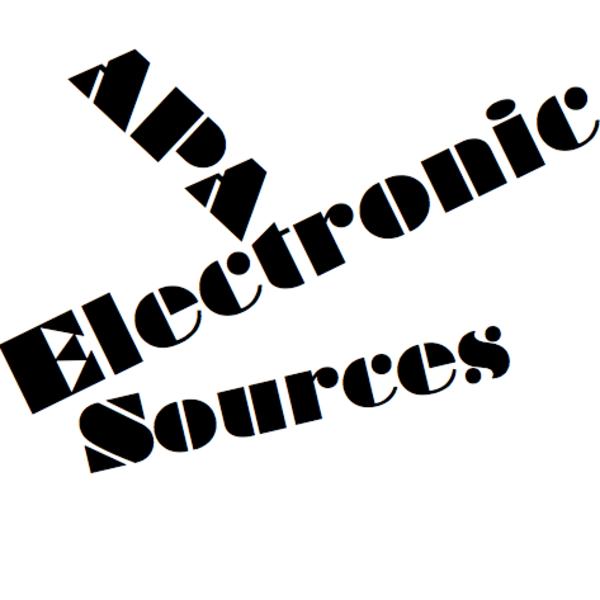 APA Bibliography: Electronic Sources
