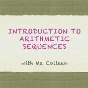 Introduction to Arithmetic Sequences