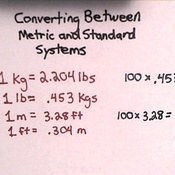 Converting Between Metric and Standard Systems