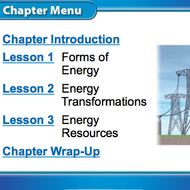 Energy Transformations (Chapter 5 Lesson 2)