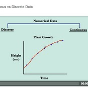Continuous vs Discrete Data