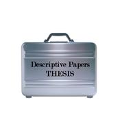 Descriptive Papers: Thesis