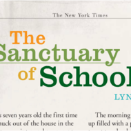 """The Sanctuary of Schools"""