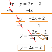 Rewriting Linear Equations in Slope-Intercept Form Tutorials ...