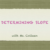 Determining Slope